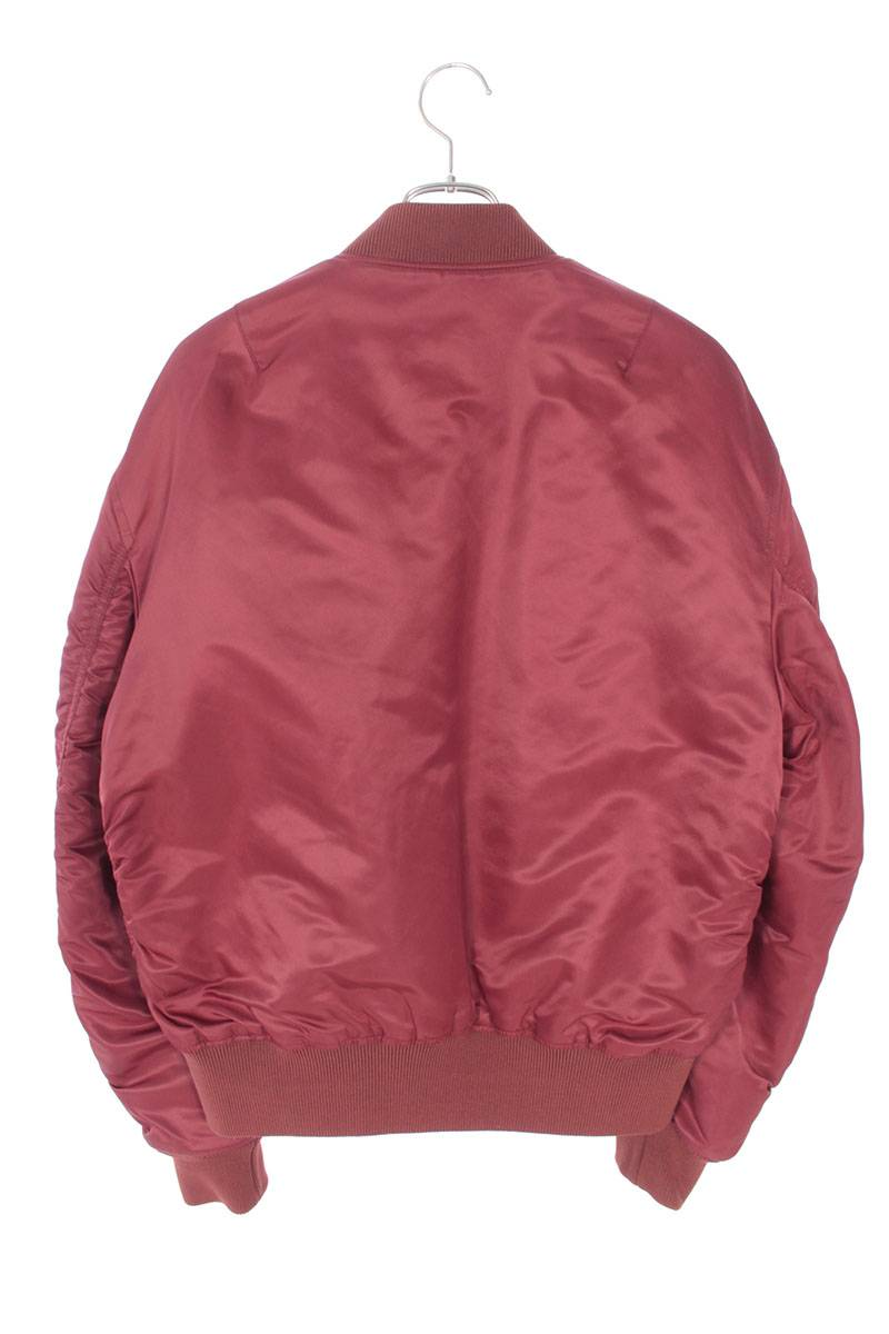 ジップアップナイロンボンバージャケット