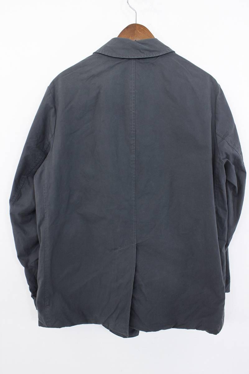 ステンカラージャケットコート