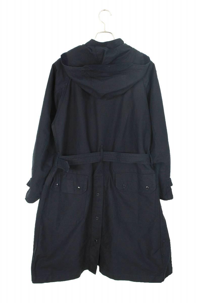 フード付き3ポケットコート