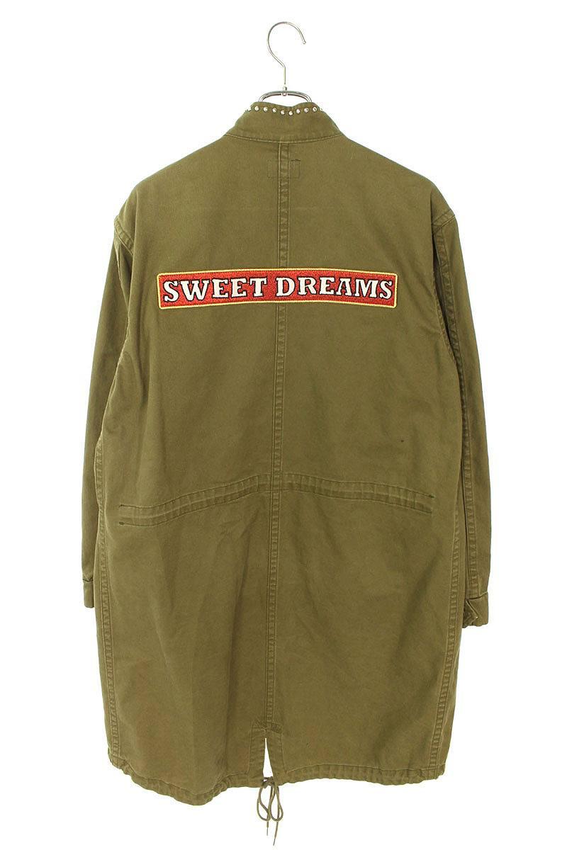 SWEET DREAMS/スタッズオーバーサイズモッズコート