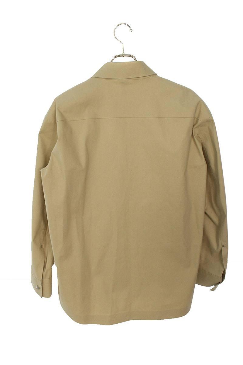 ゴム引きシャツジャケットブルゾン