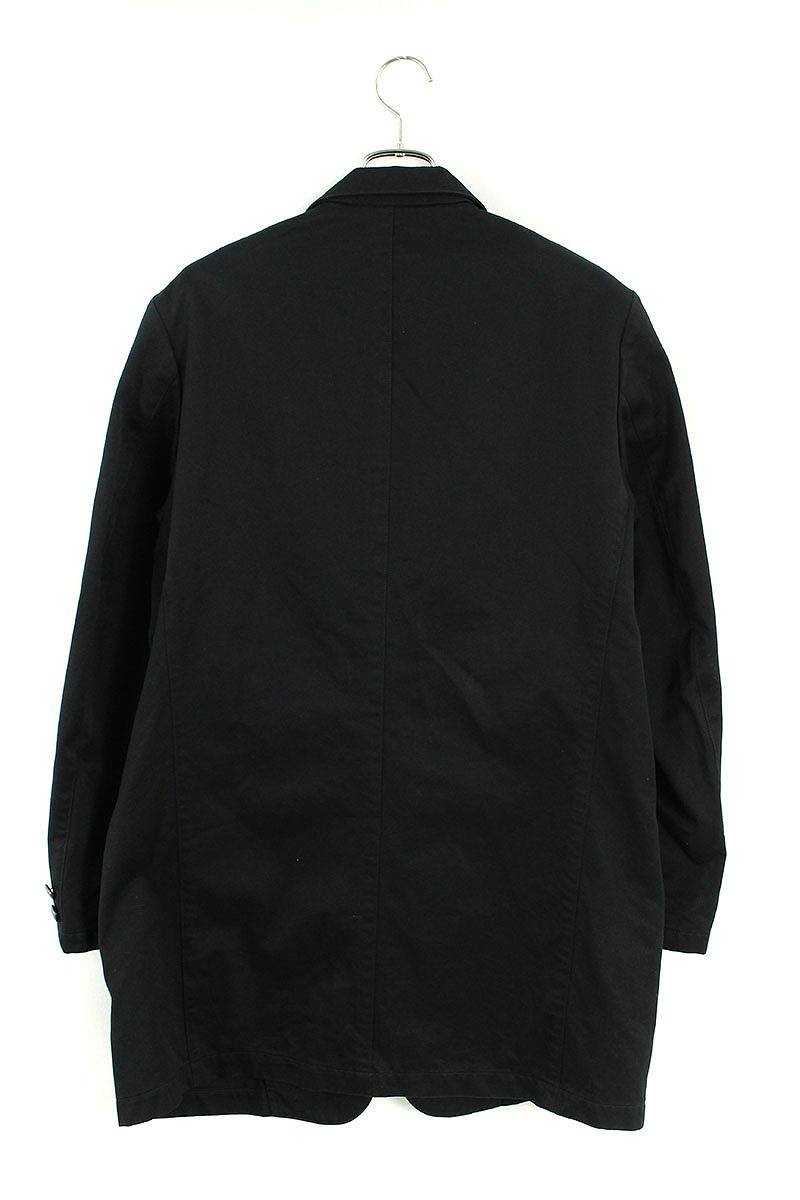 裏地刺繍デザインオーバーサイズコットンジャケット