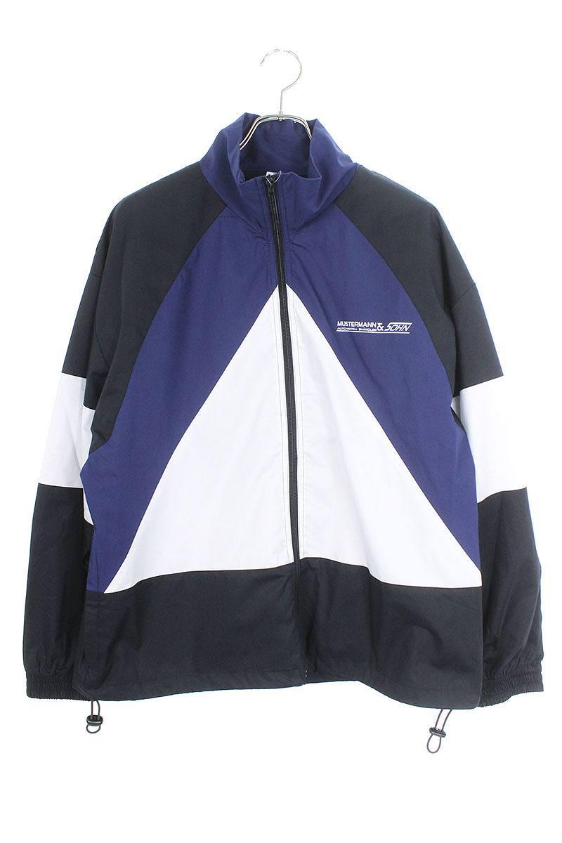 カラー切替デザイントラックスーツジャケット