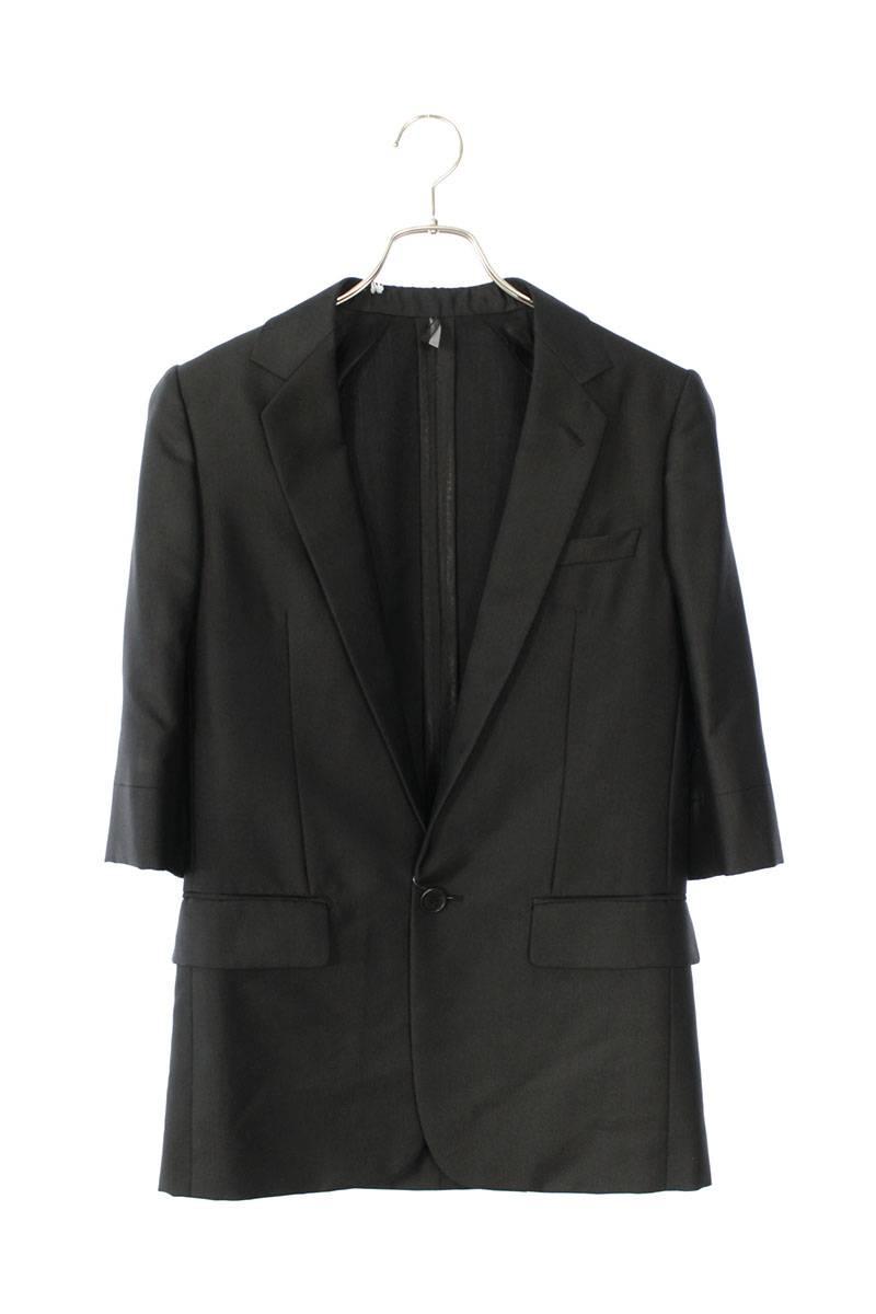 5分丈袖ノッチドラペルテーラードジャケット