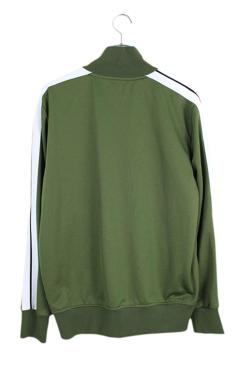 ロゴプリントジップアップトラックジャケット