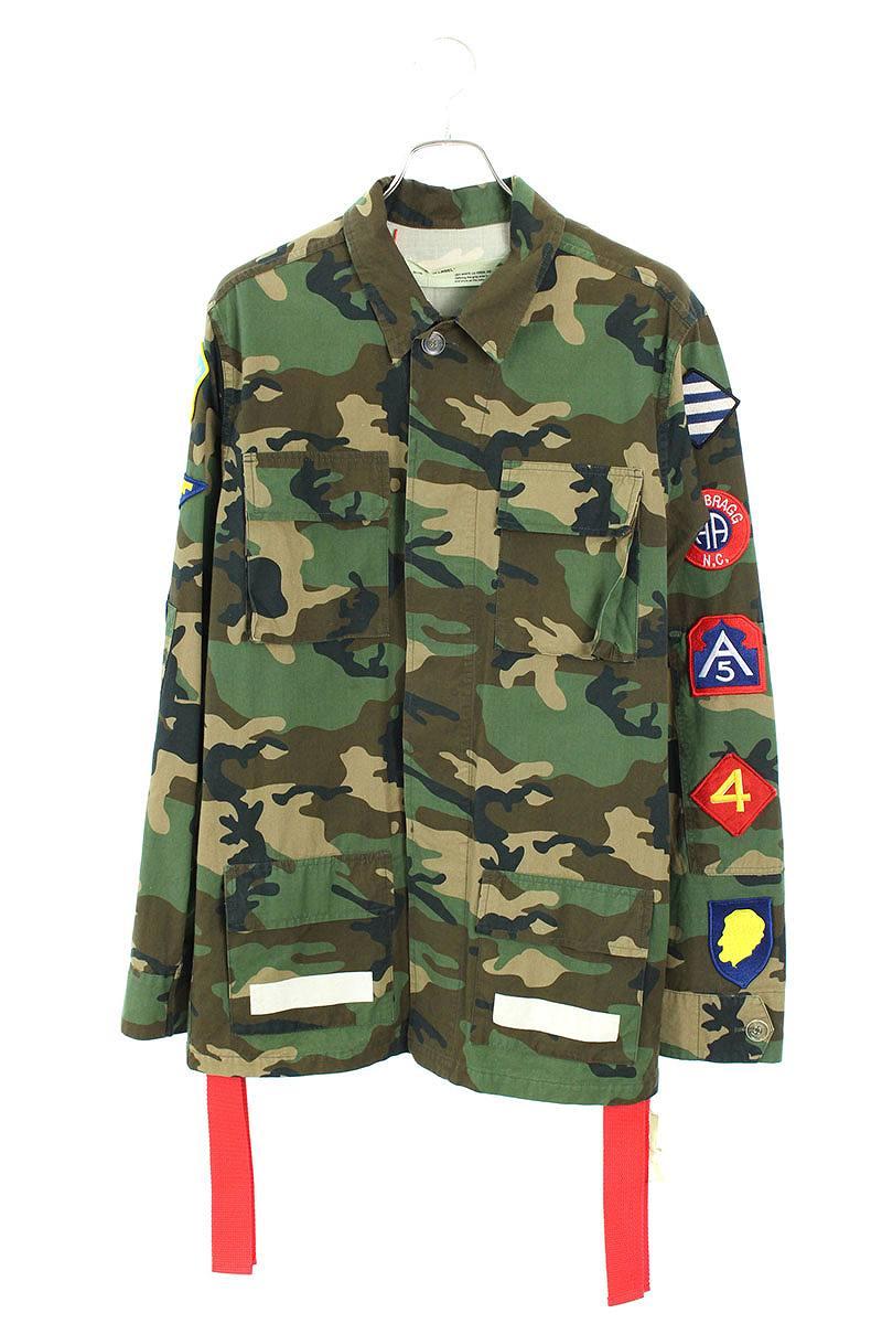 袖ワッペン迷彩カモフラフィールドジャケット