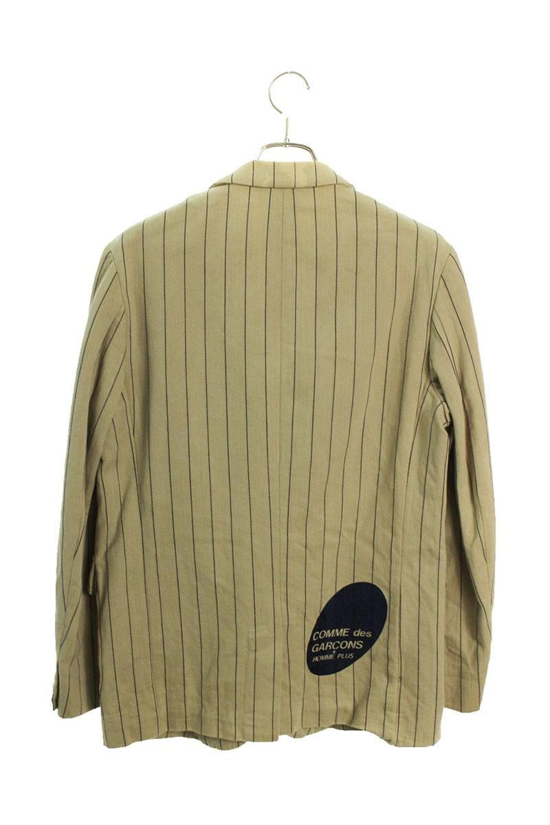 AD2002バックプリントストライプジャケット