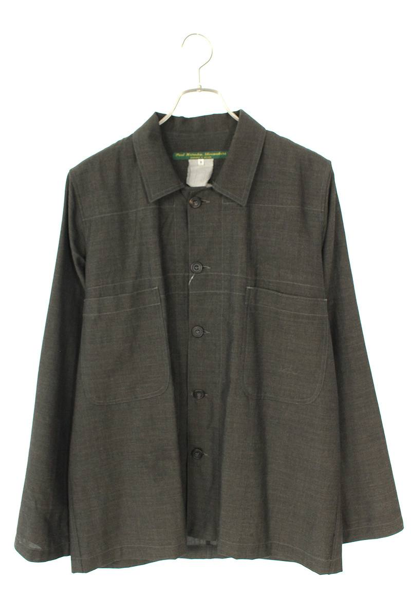 グレンチェックシャツジャケット