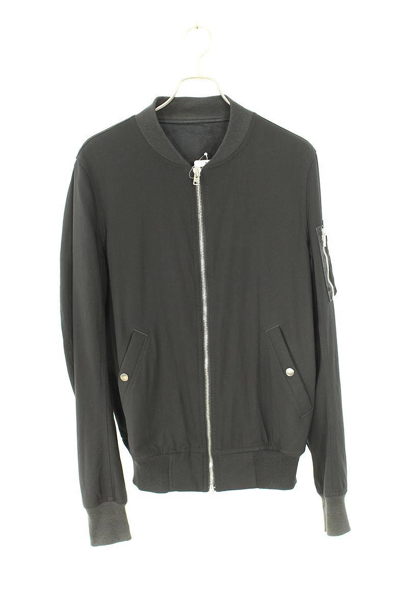 ジップアップボンバーMA-1ジャケット