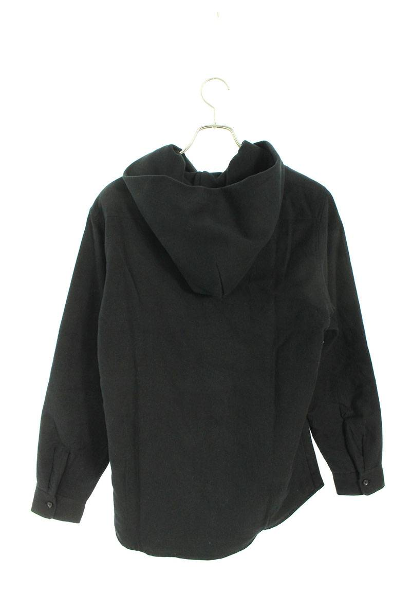 中綿フード付きシャツジャケット