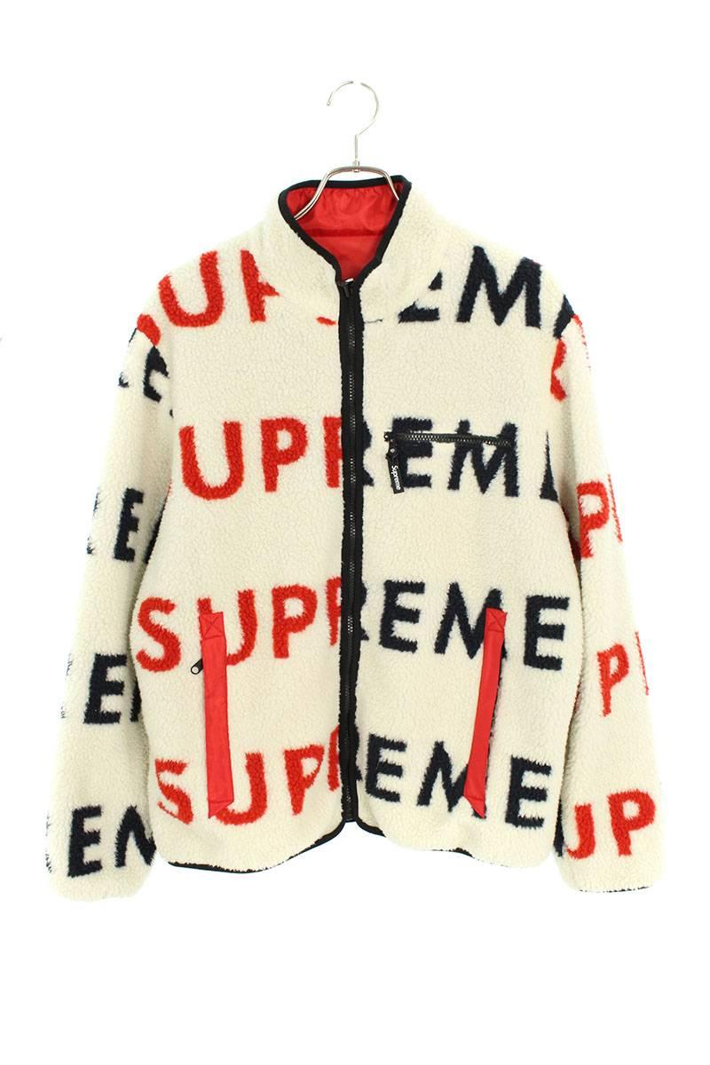 リバーシブルロゴフリースジャケット