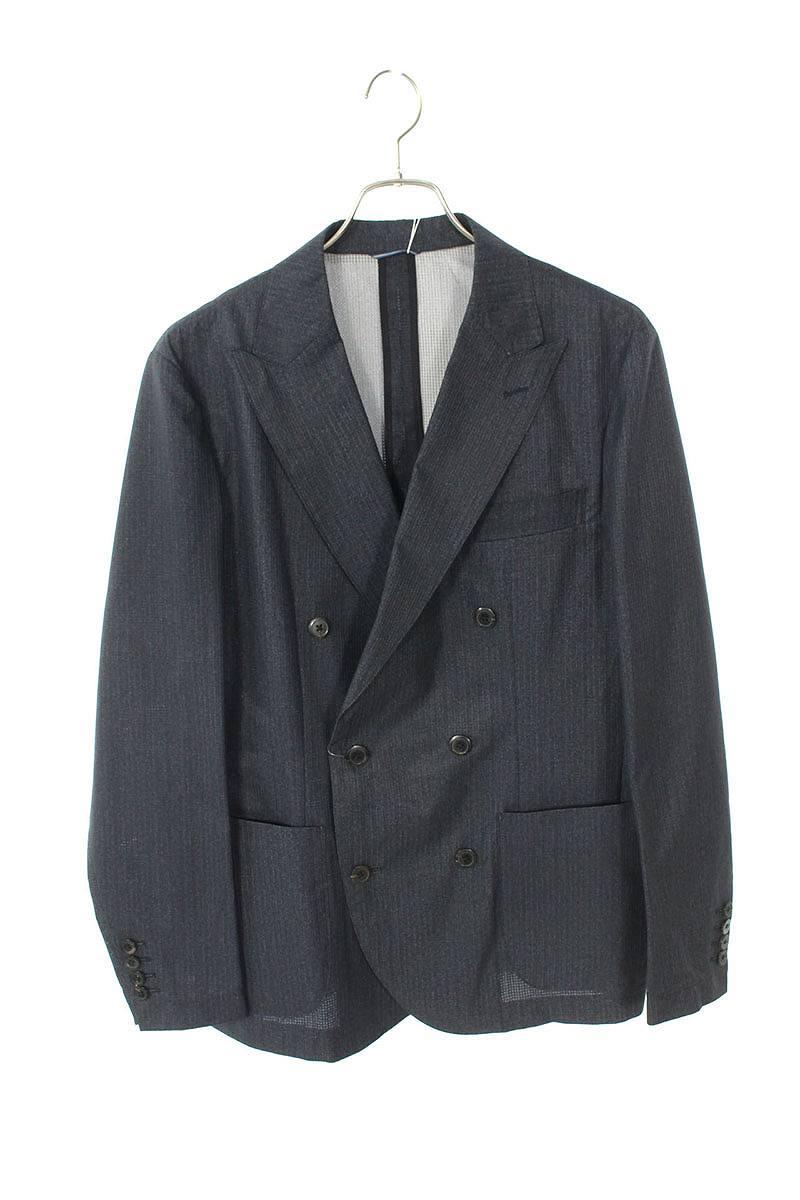 ポリエステルダブルブレストジャケット