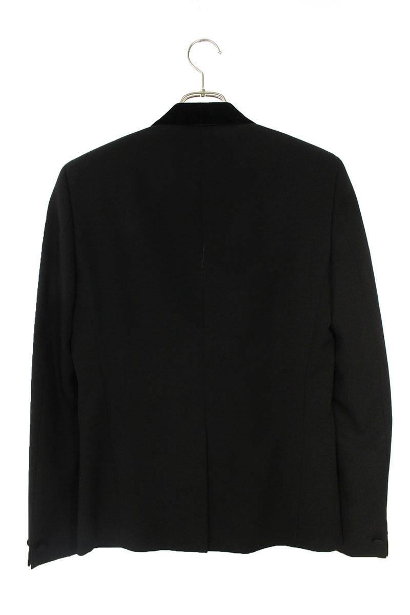 ベロアショールカラースモーキングジャケット