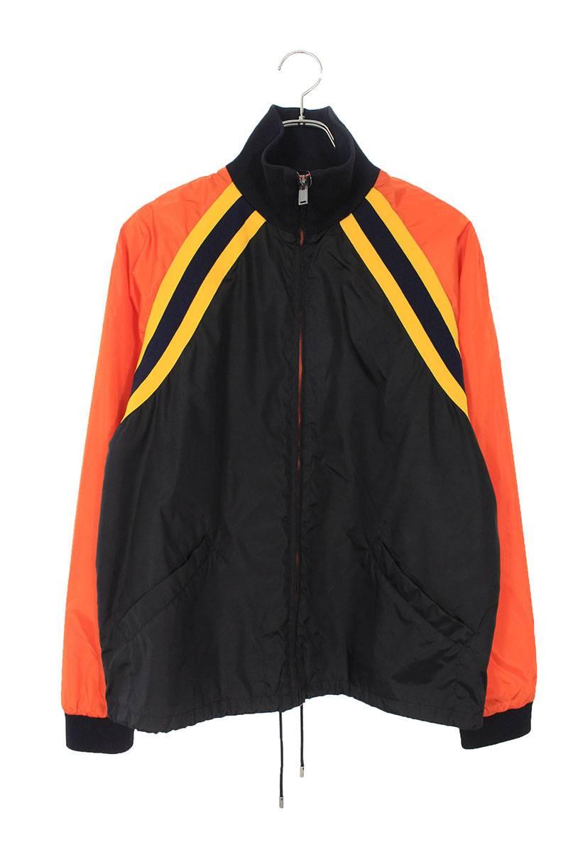 ヴィンテージロゴナイロンジップアップジャケット