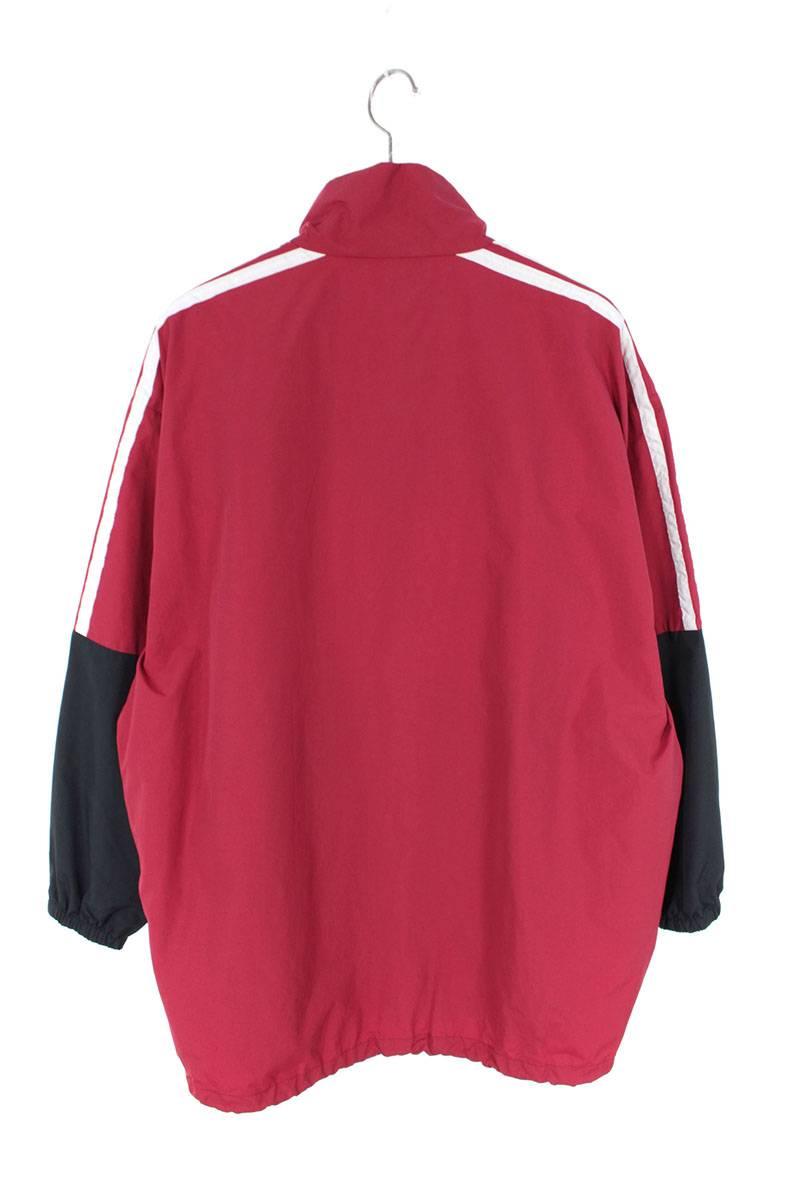 ロゴプリントポプリンシャツジャケット