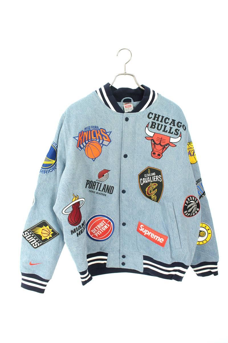 NBAチームウォームアップデニムジャケット