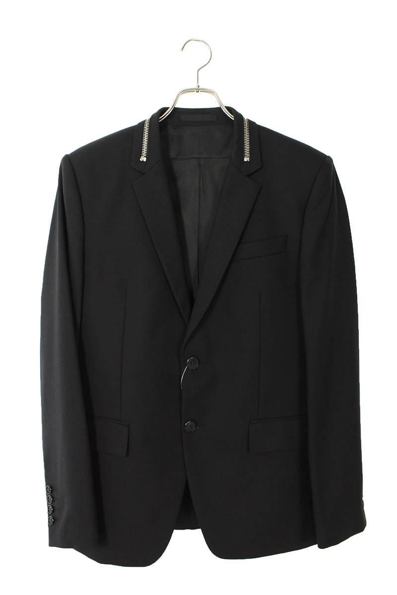 ジップ装飾2Bジャケット