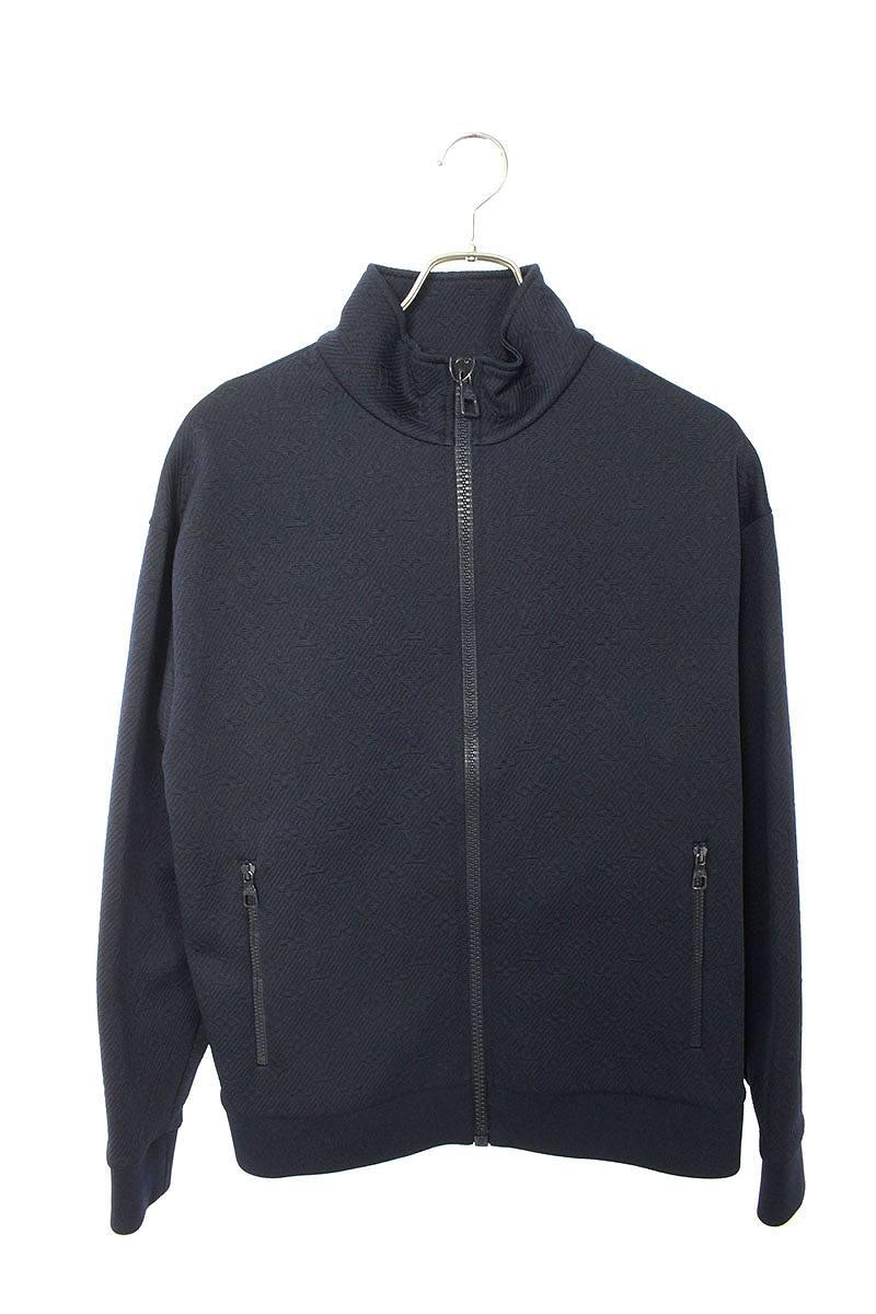 モノグラムジップスルートップジャケット