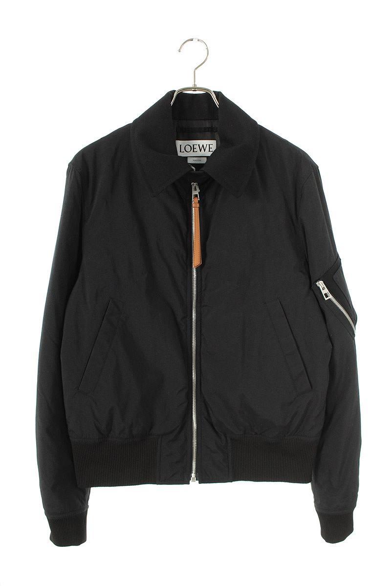 襟付きMA-1ボンバージャケット