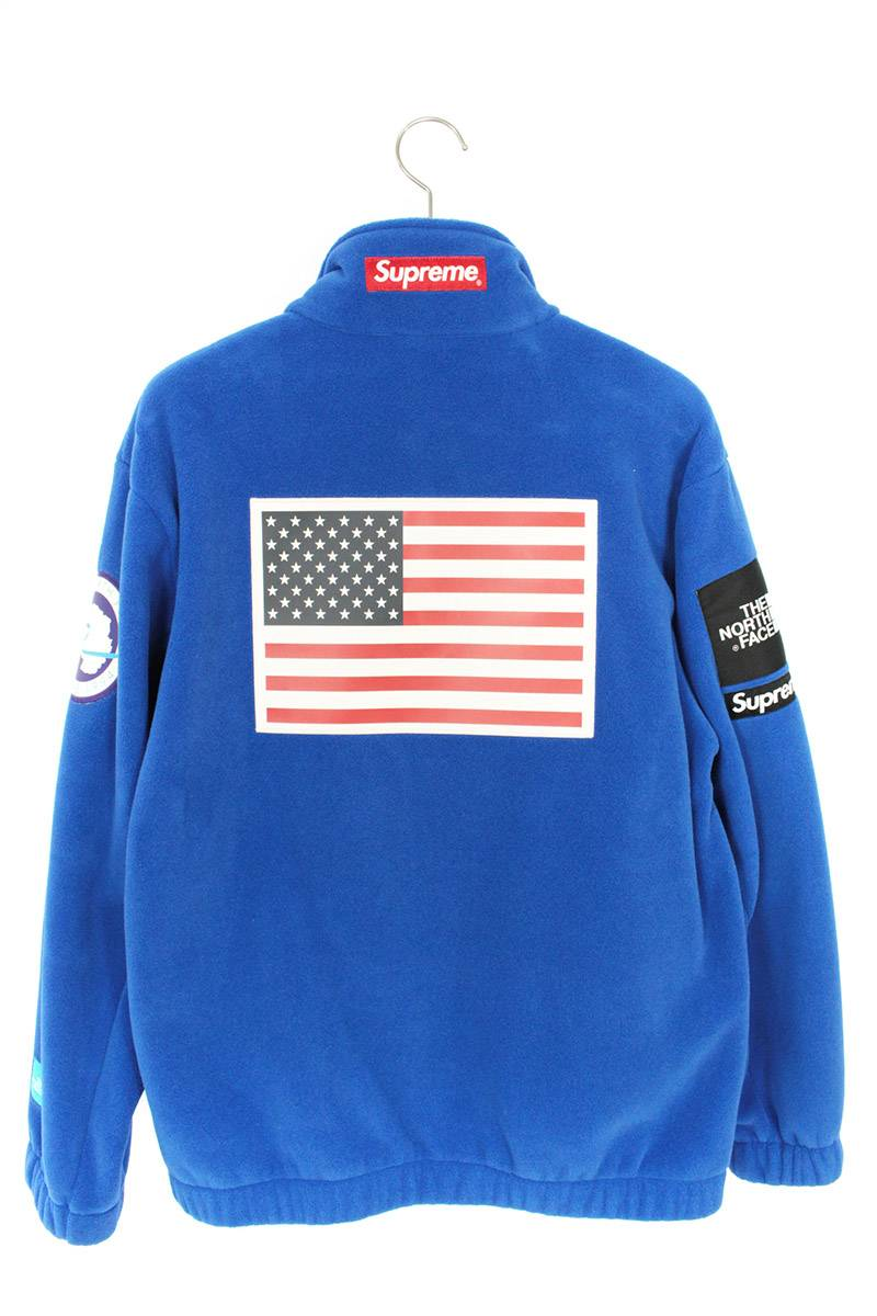 アメリカンフラッグフリースジャケット
