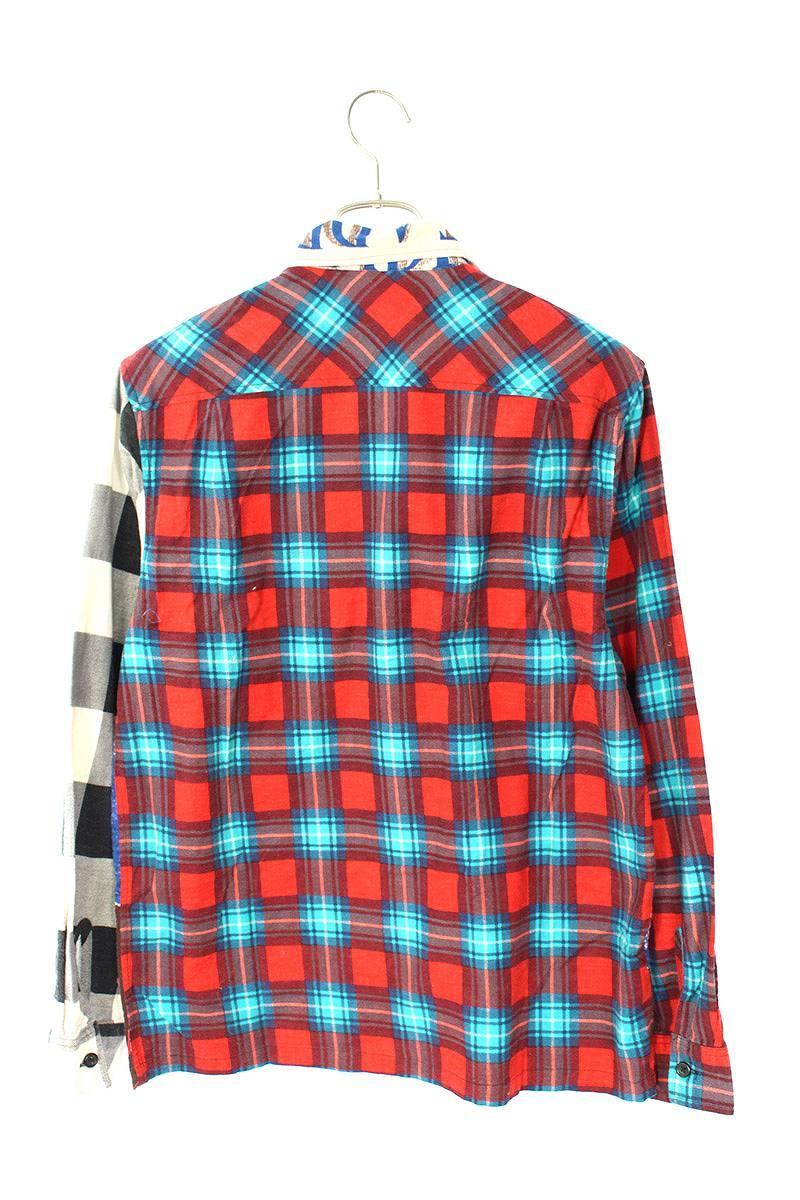 キング牧師ジップアップフランネルシャツジャケット