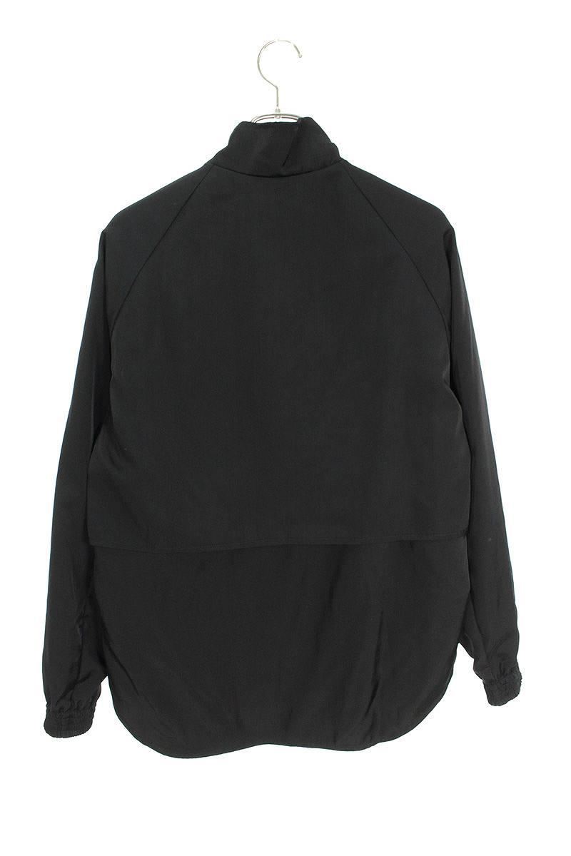 レイヤードデザインナイロントラックジャケット