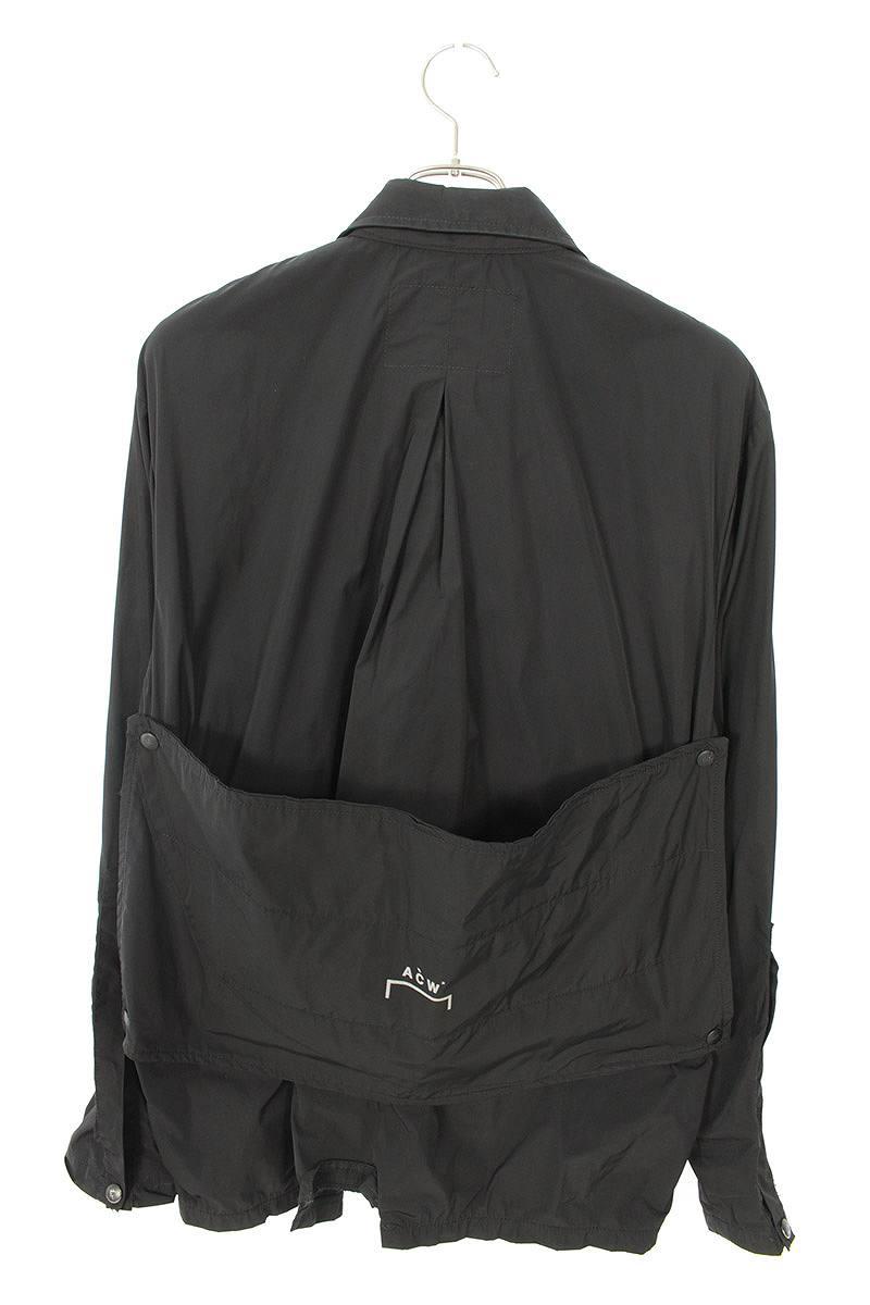 ポケットデザインナイロンジャケット