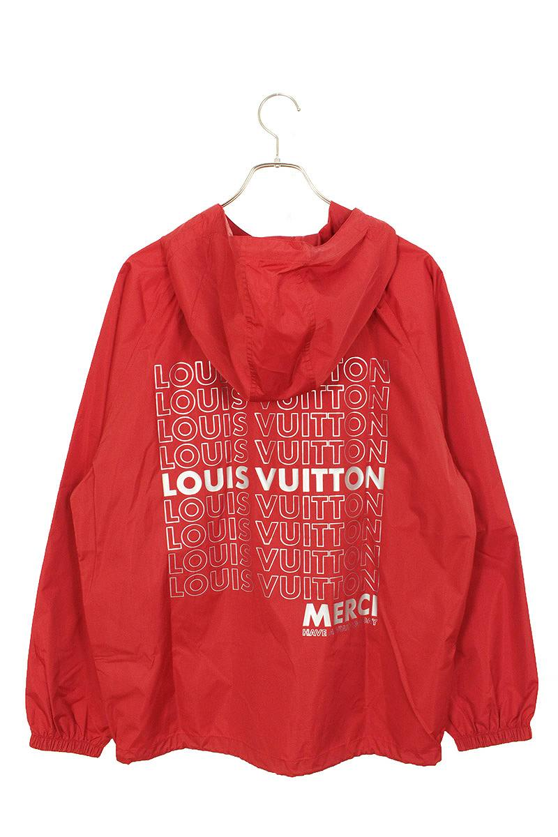 LVリストグラフィックアノラックジャケットジャケット
