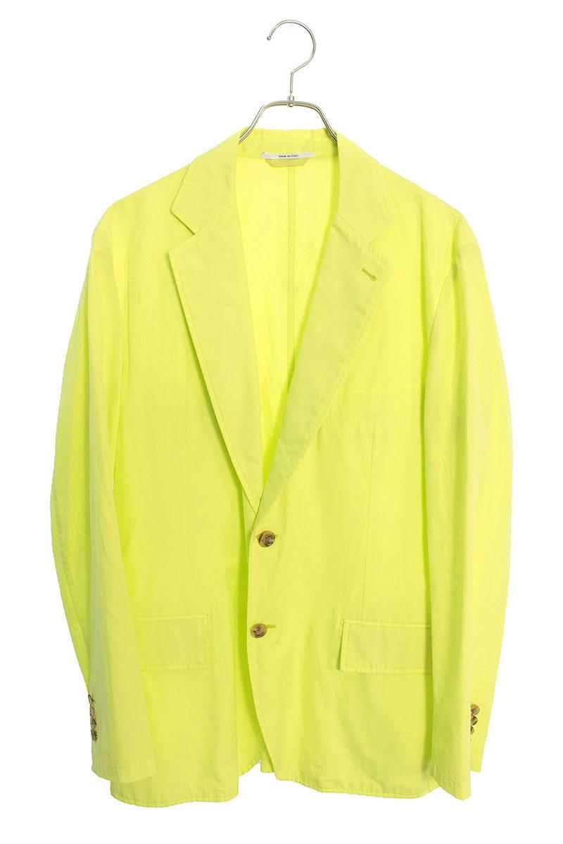 ネオンカラーテーラードジャケット