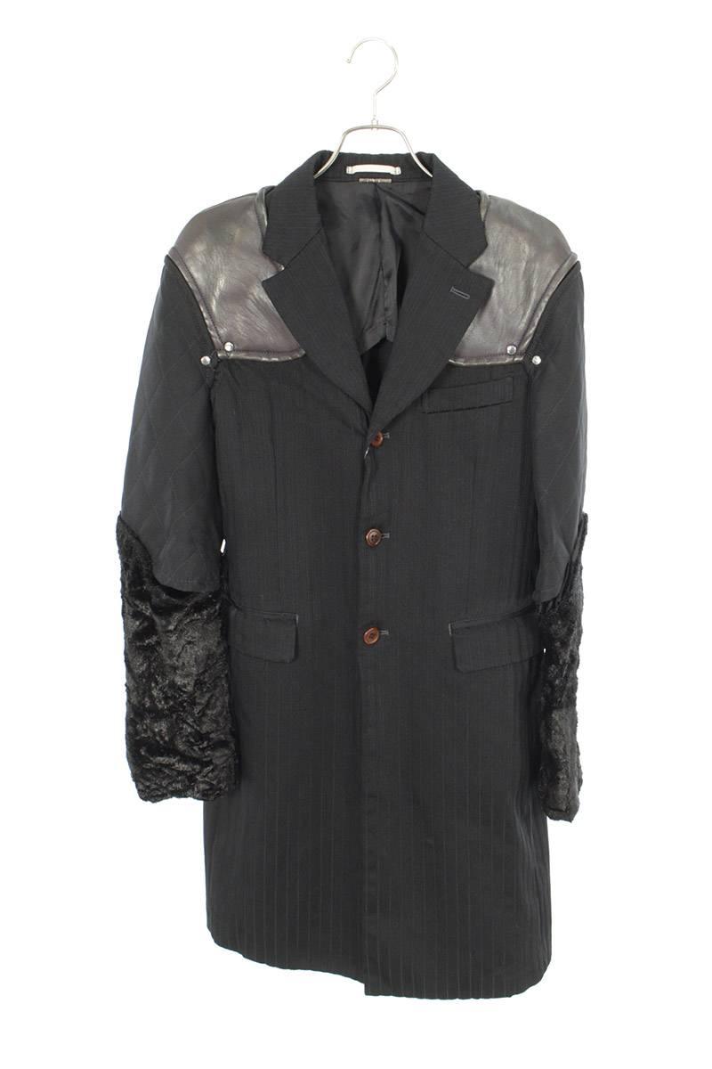 AD2016ドッキングデザインロングジャケット