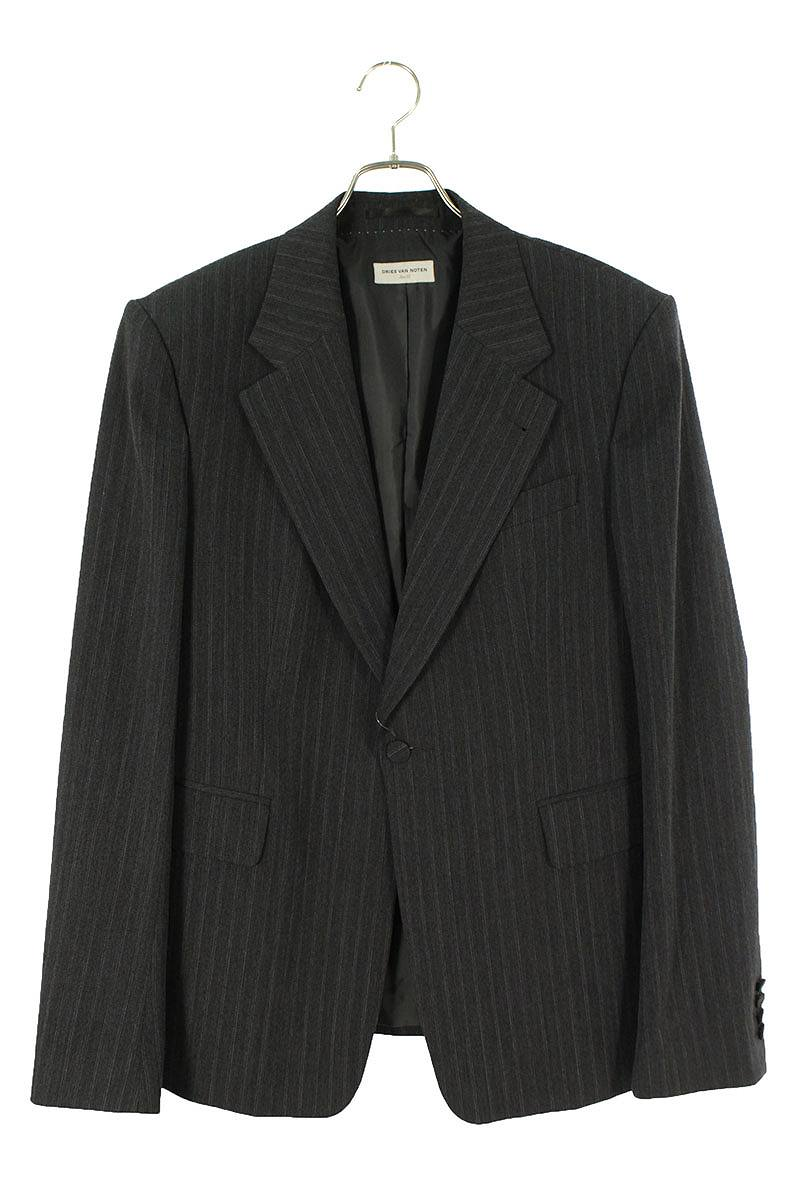 ストライプ1Bジャケット