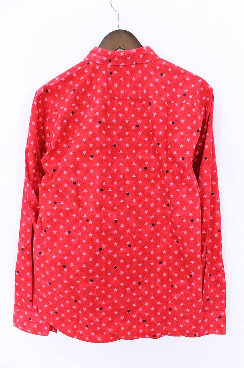 AD2002スタードットマルチボタン長袖シャツ