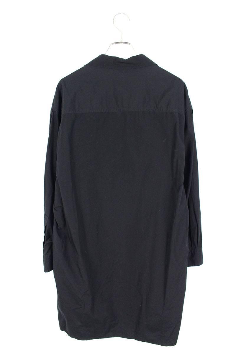 スタンドダブルループ環縫い長袖シャツ