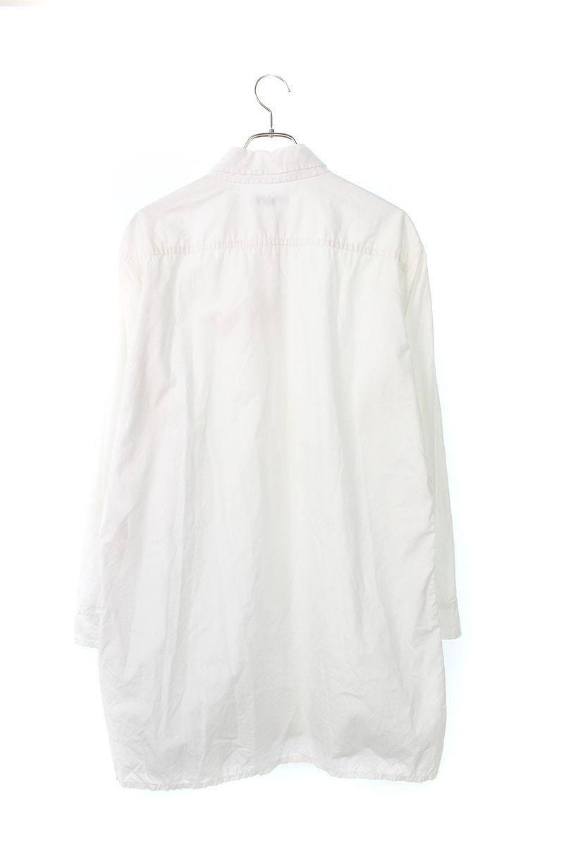 カラーレイヤードビッグシルエット長袖シャツ
