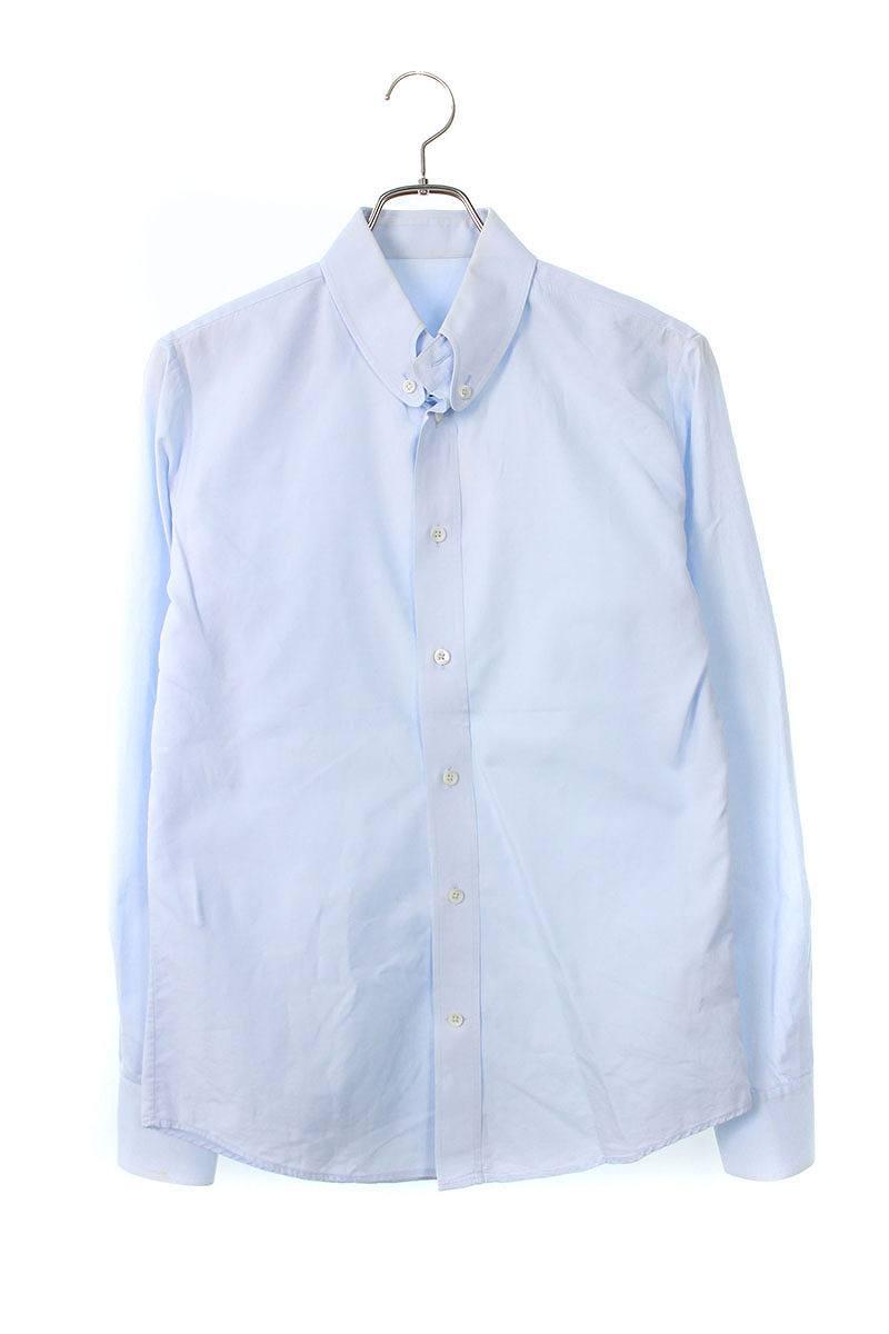 REPLICAライン 変形ボタンダウンカラー長袖シャツ