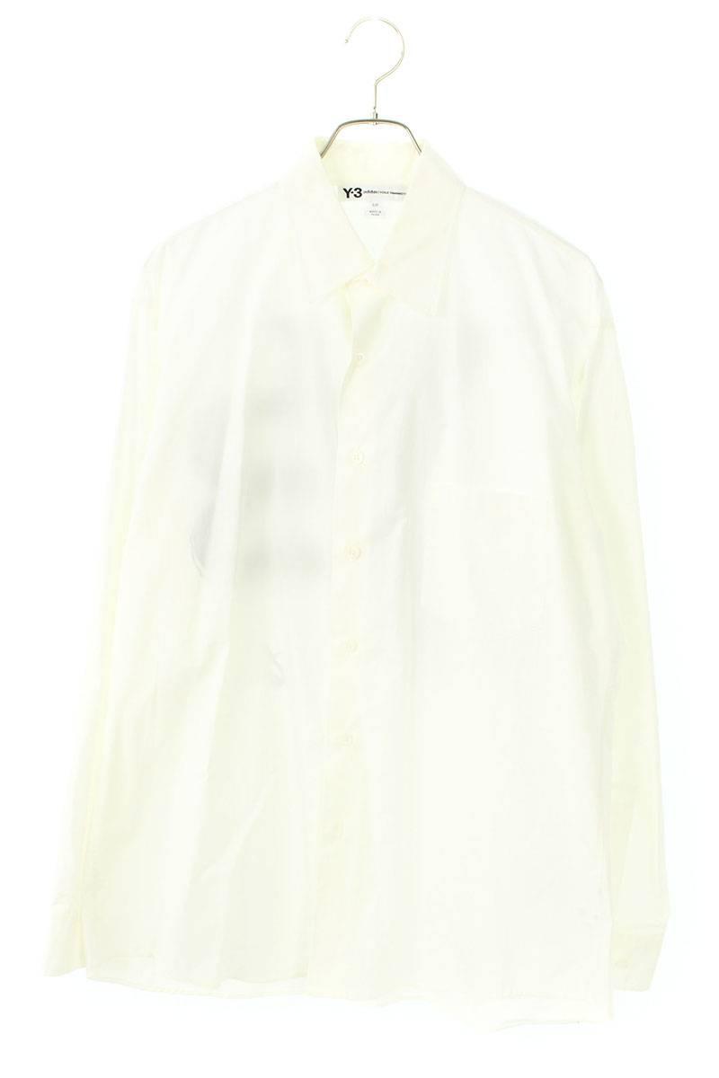 バックロゴプリントロング長袖シャツ
