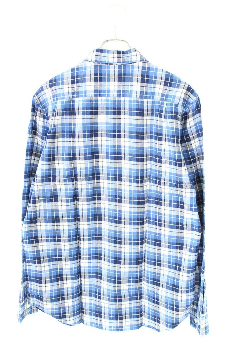 チェック柄ポケットシャツ