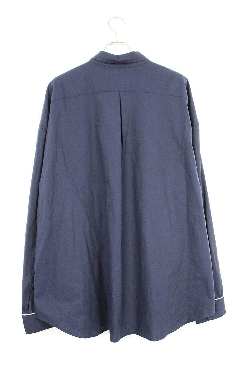 オーバーサイズパイピングシャツ
