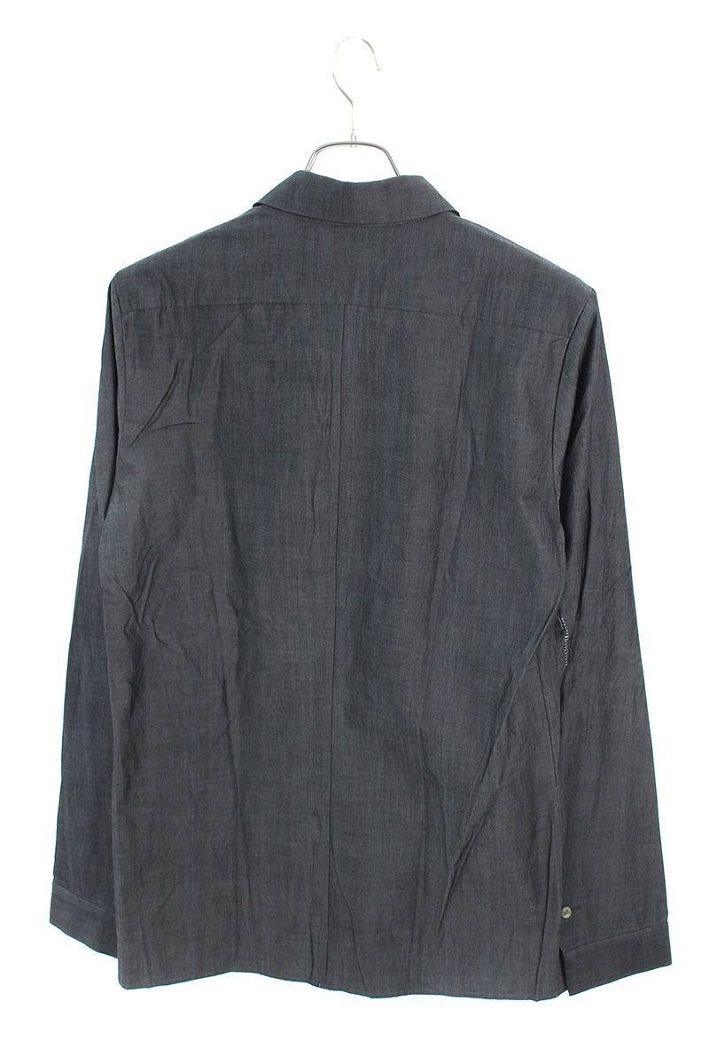 ステッチデザイン長袖シャツ