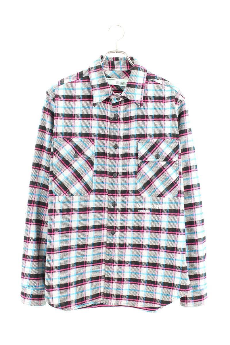 オーバーサイズフランネルチェックシャツ