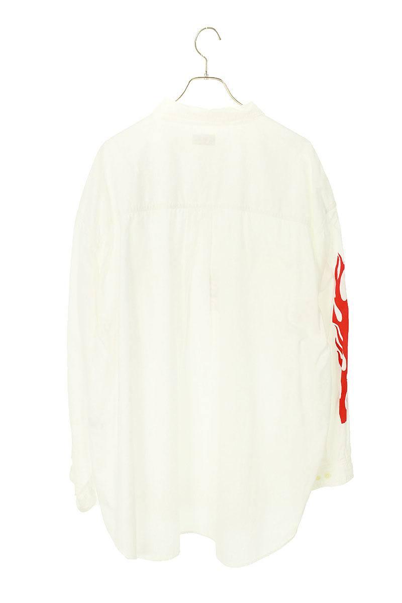 フレイムプリント長袖シャツ