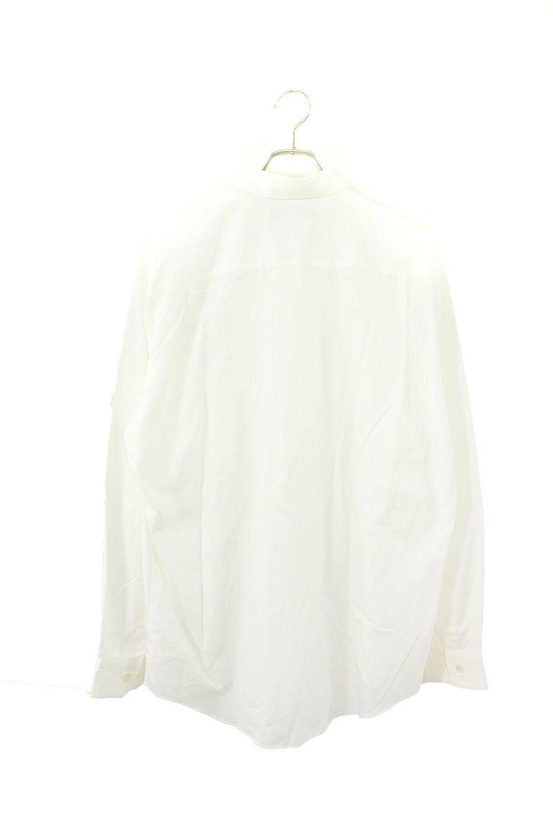 コットンオーバーサイズ長袖シャツ