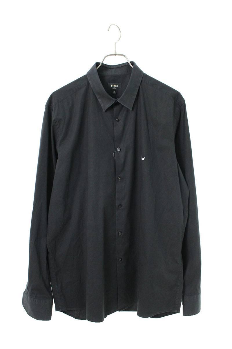 モンスター刺繍長袖シャツ
