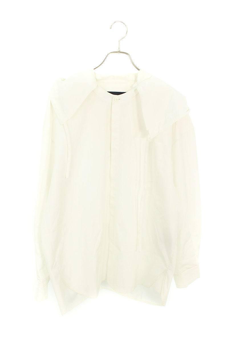 ロング丈フード付き長袖シャツ