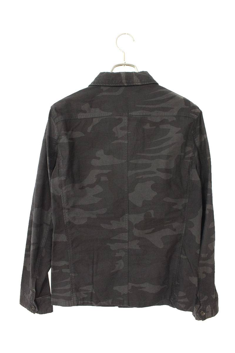 カモフラ柄長袖シャツ