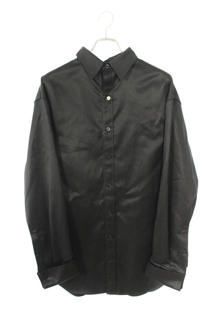 ワークアウトバックプリントオーバーサイズ長袖シャツ