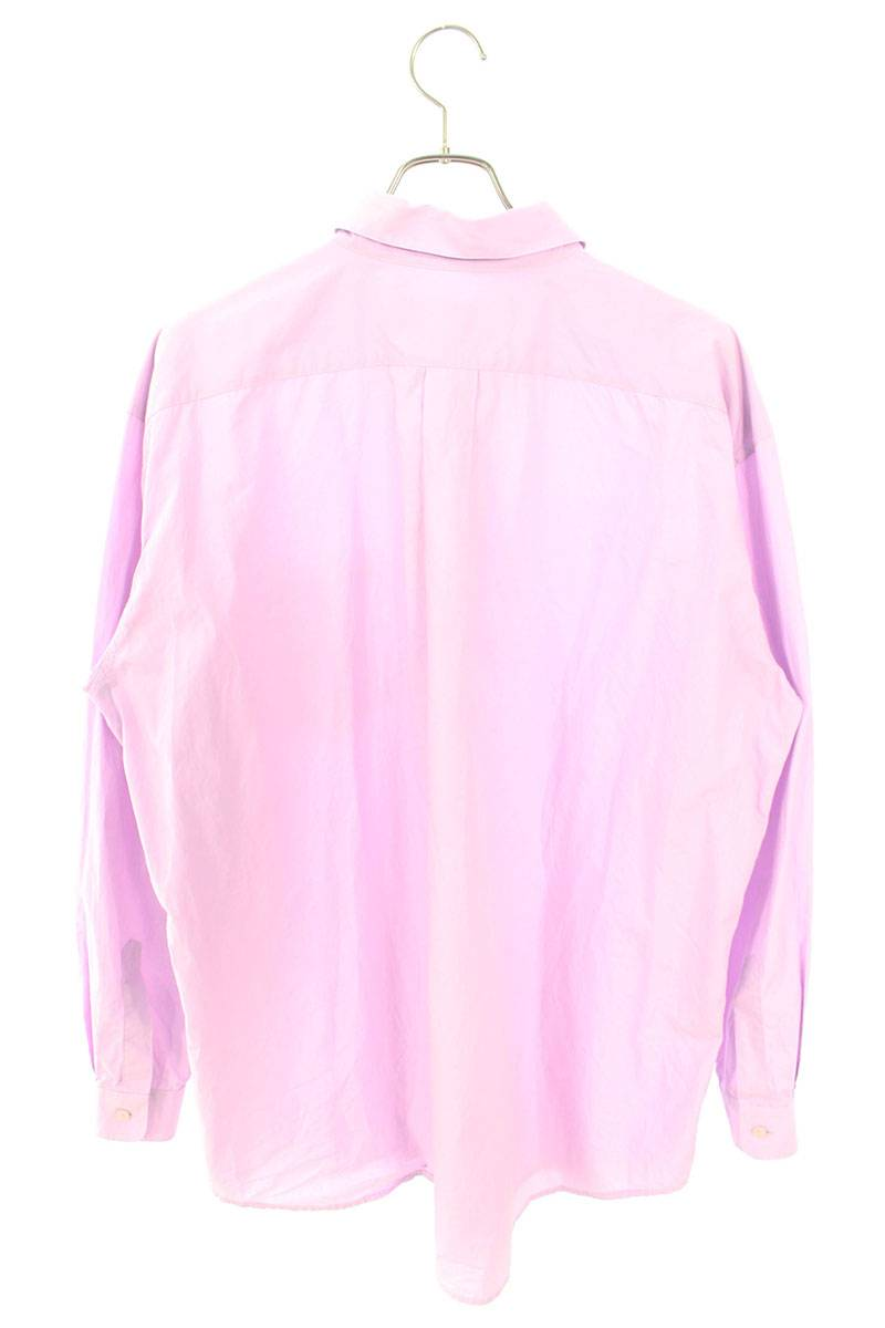オーバーサイズ長袖シャツ