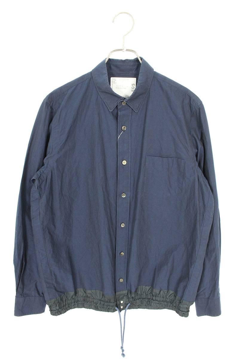 ドローコード長袖シャツ