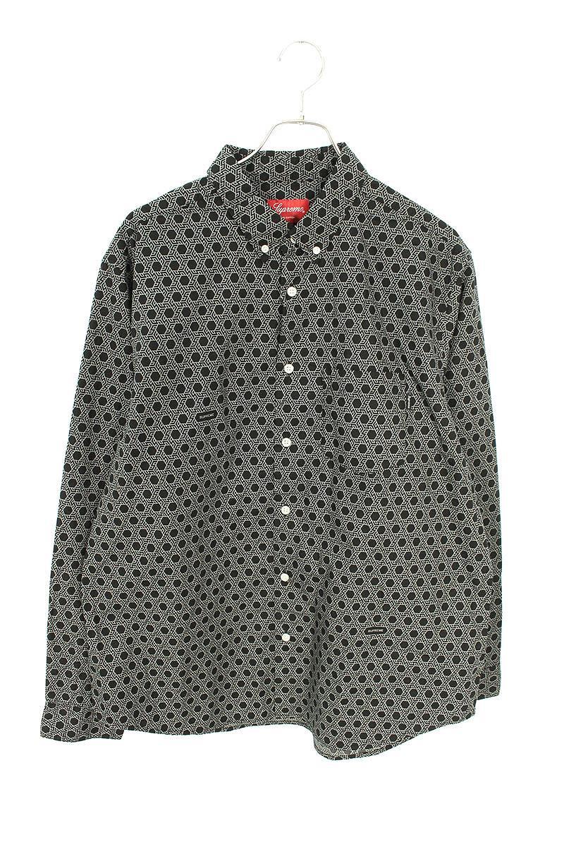 モノグラム長袖シャツ