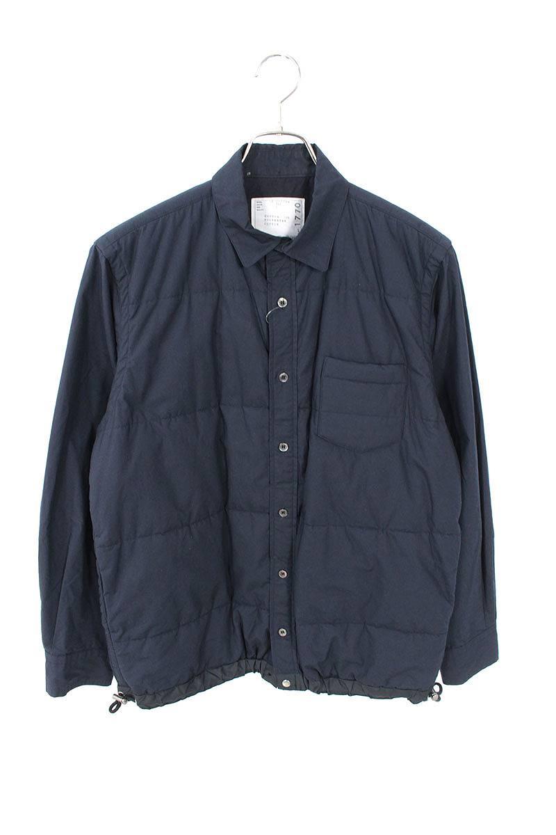フロント切替長袖シャツ